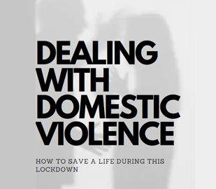 dealing with domestic violence by Diya Shukla